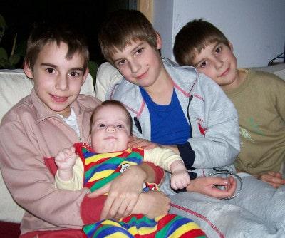 Négy fiú :)