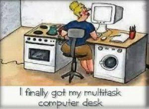 Az anyák multitask számítógépek